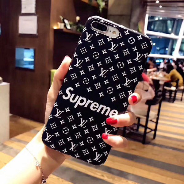 Supreme x LV Case For iPhone 8/7/6/Plus Cover Coque | Yescase Store