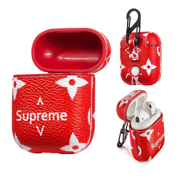 Supreme Airpods Case Cover Red Yescase Store