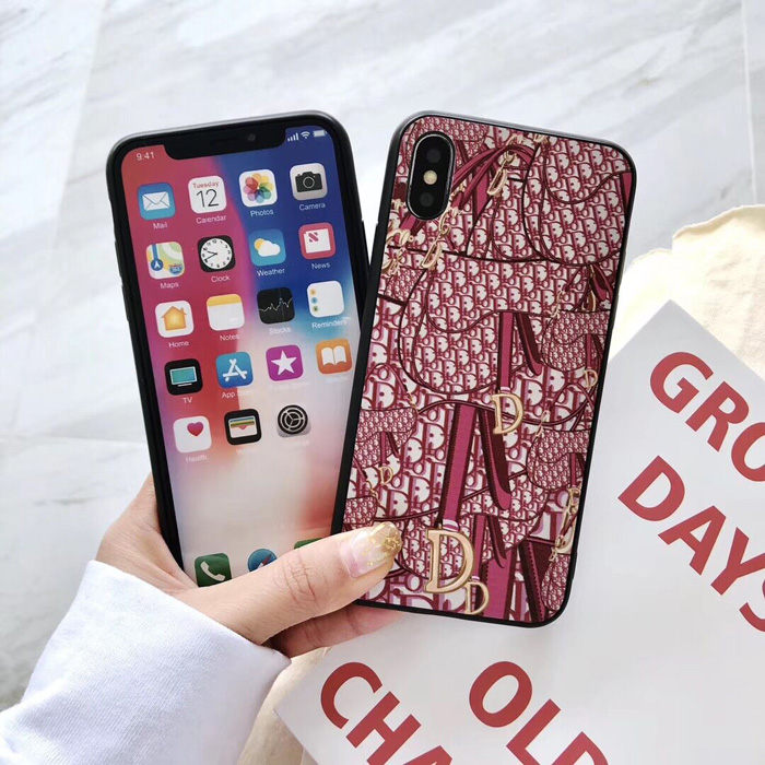 Dior Saddle Bag Phone Case 3D For iPhone 8 iPhone 6 7 8 Plus Xr X Xs Max