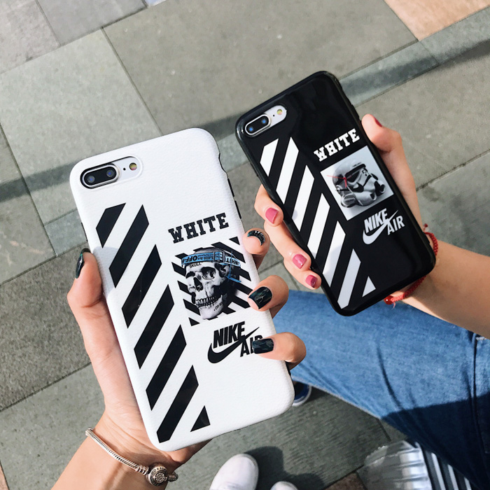 Off White X Nike Stripe Phone Case For Iphone 7 Plus Iphone 6 7 8