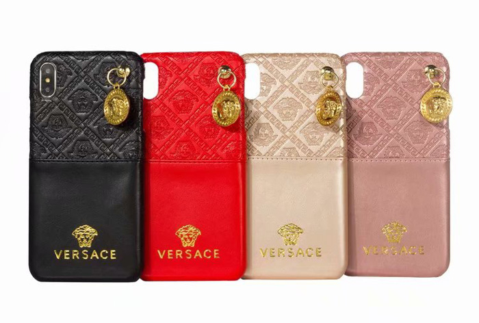 new product d8f87 a22ac Versace Card Phone Case For iPhone XR iPhone 6 7 8 Plus Xr X Xs Max ...